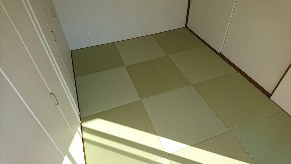 モダン和室の琉球畳
