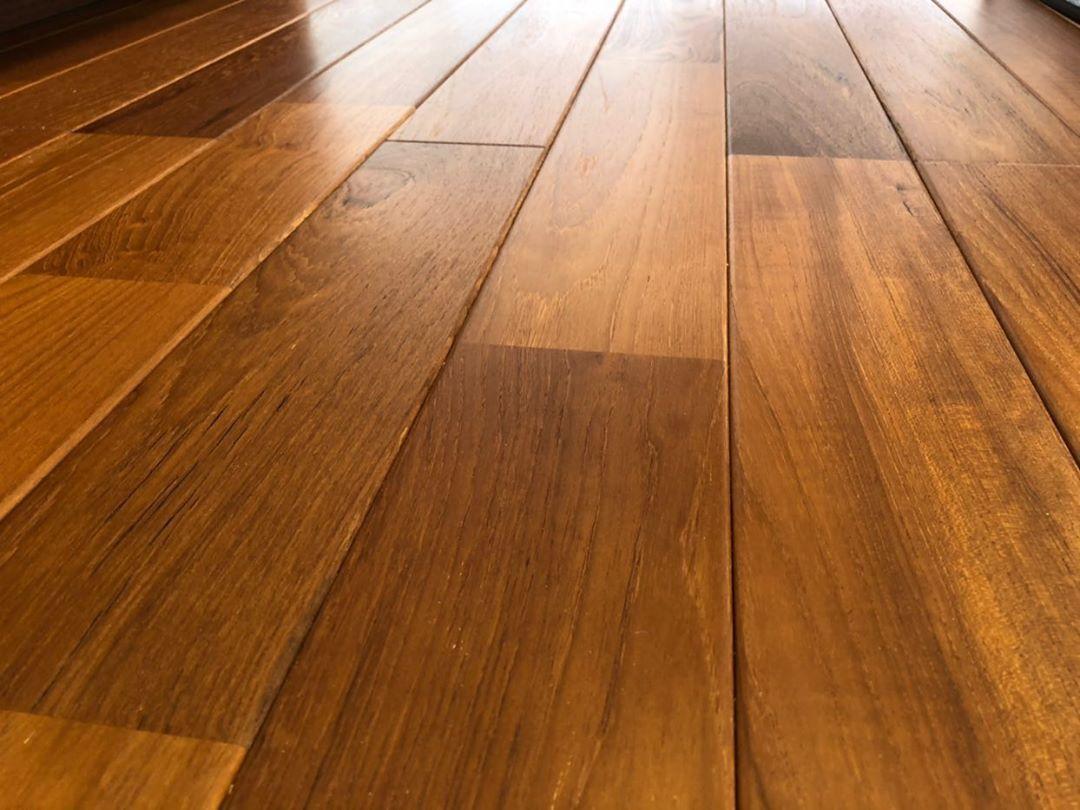 無垢床のエクセレントチークの写真(hirataさん邸)