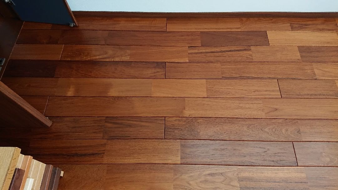無垢床のエクセレントチーク(チークオイル)の写真(Kimuraさん邸)