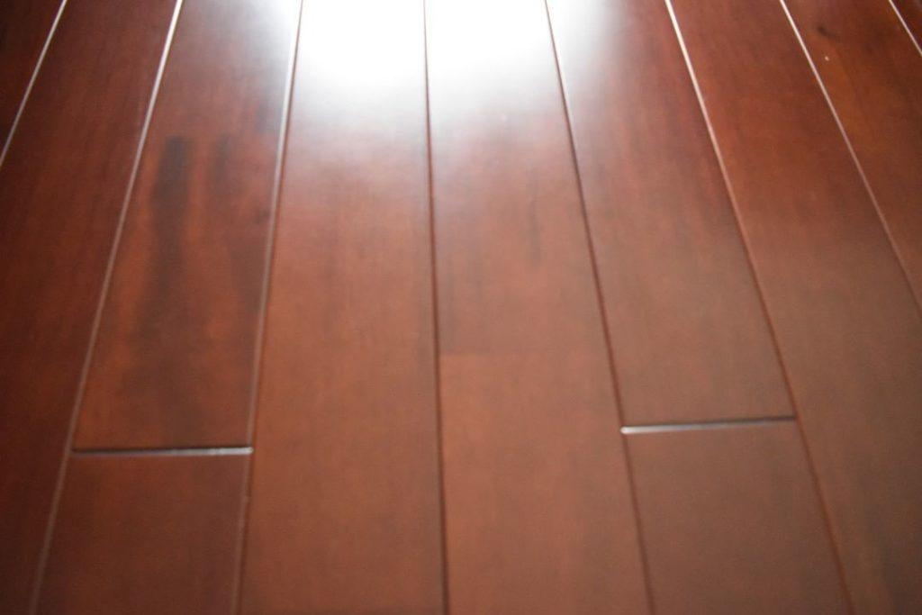 プライムウッドⅡ(ライト) マホガニーアンティーク(MGA)挽板の写真(Kim23さん邸)